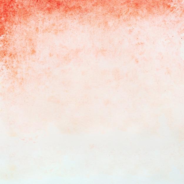 Czerwony akwarela tekstura tło