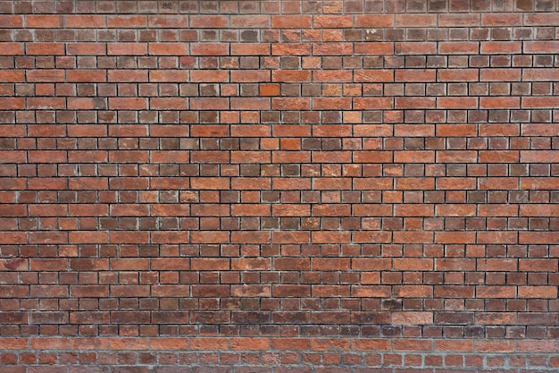 Czerwony ceglany mur tekstury tło grunge. nowoczesny styl tła, przemysłowe