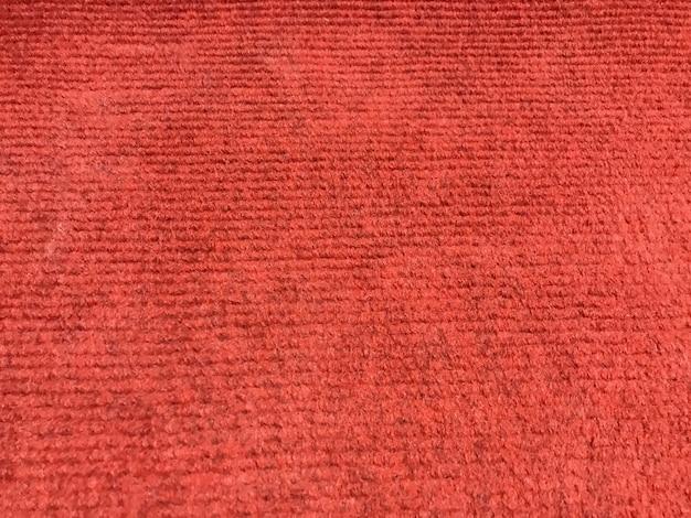 Czerwony dywan tekstury podłogi ściany