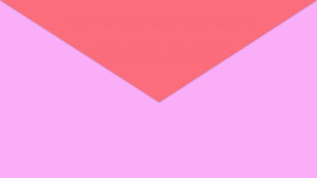 Czerwony i różowy pastelowy papierowy kolor dla tekstury tła