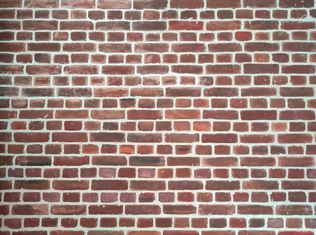 Czerwony mur z cegły grunge, streszczenie tekstura tło ze starym wzorem w stylu brudnym i vintage