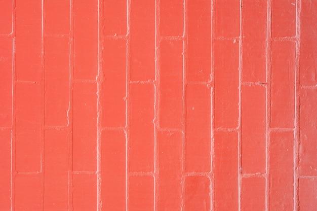 Czerwony mur z cegły