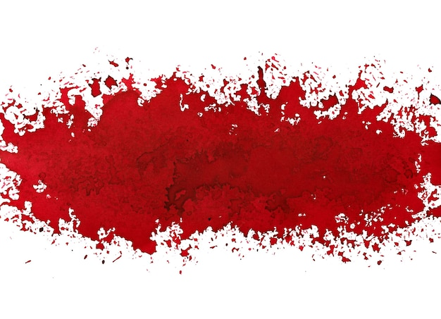 Czerwony pasek farby. street art styl streszczenie tło grunge. ilustracja rastrowa