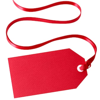 Czerwony prezent lub cena