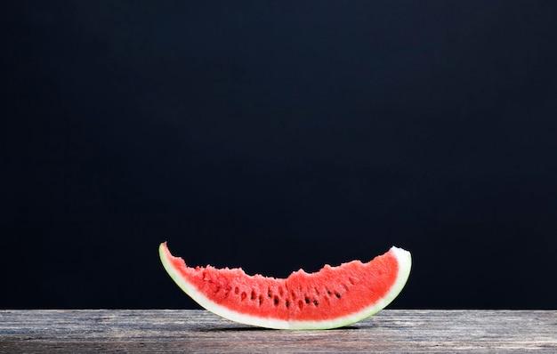 Czerwony, soczysty arbuz