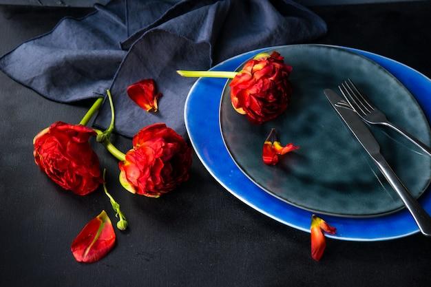 Czerwony tulipan księżniczki