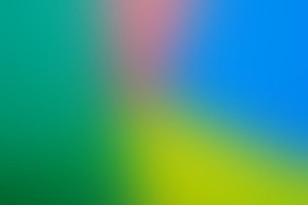 Czerwony żółty zielony i niebieski są zmieszane w różnych proporcjach z wyraźną separacją