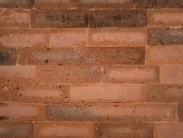 Czerwonych cegieł ściany tło