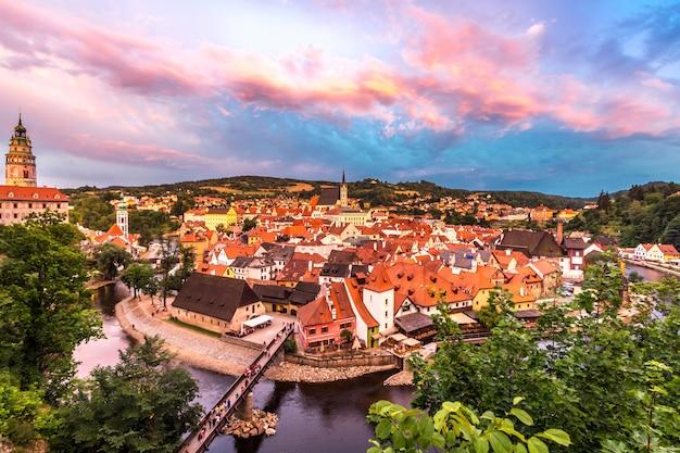 Czeski krumlow, republika czeska