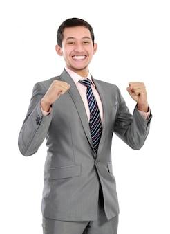 Człowiek sukcesu w biznesie