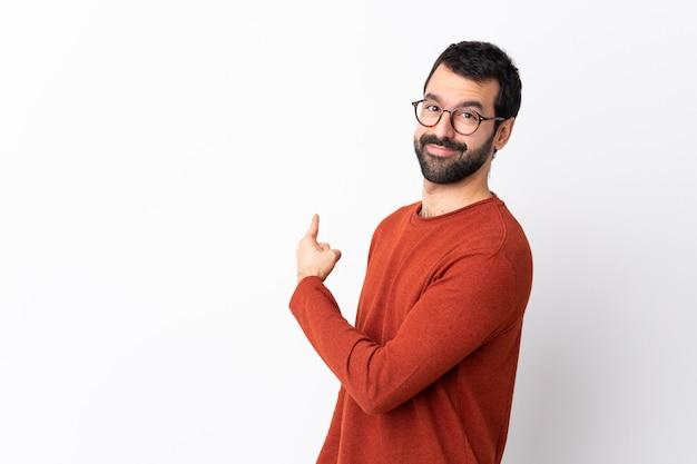Człowiek w okularach