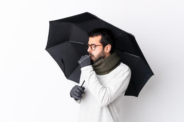 Człowiek z parasolem