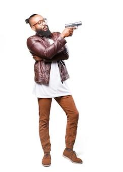 Człowiek z pistoletem