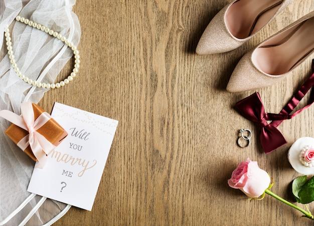 Czy wyjdziesz za mnie za małżeństwo z propozycją karty?