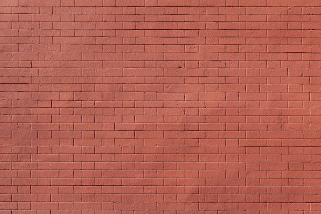 Czyści textured czerwonego ściana z cegieł tło