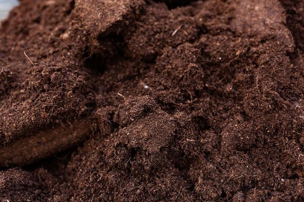 Czysta gleba do uprawy.