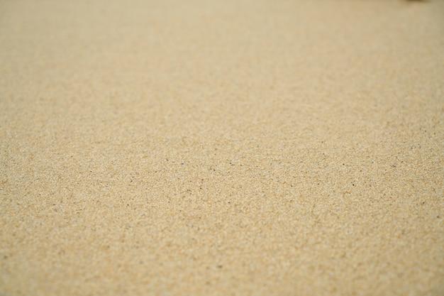 Czysta plaża piasek na zewnątrz pełnej klatki