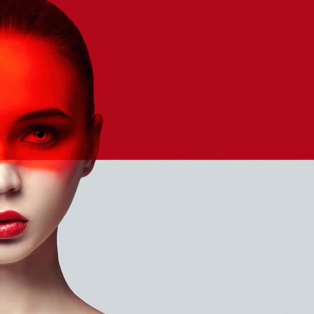 Czysta skóra idealna i naturalny makijaż, pielęgnacja skóry