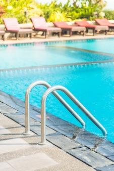 Czyste schody wakacje pływać basenie