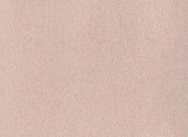 Czysty brązowy papier pakowy tekstura tło. tapeta kartonowa w stylu vintage