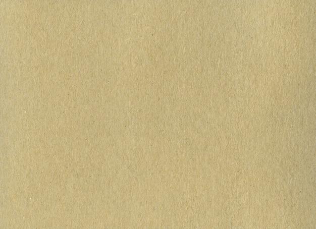 Czysty brązowy papier pakowy tekstura tło.