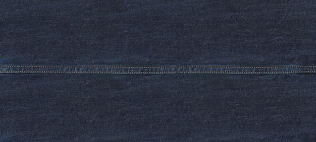 Czysty niebieski denim tekstury tła