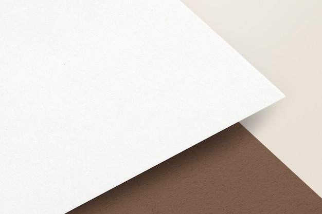 Czysty papier do projektowania tożsamości korporacyjnej