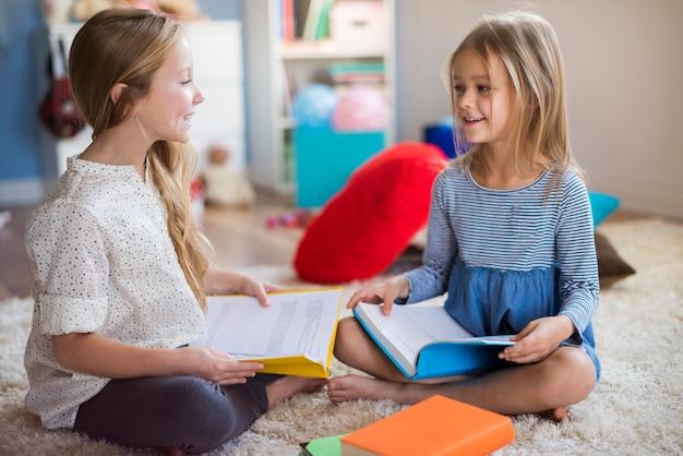 Czytanie może być wspólną pasją