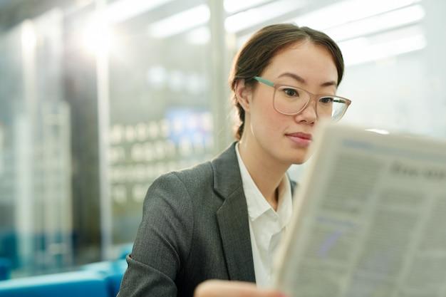 Czytanie wiadomości finansowych