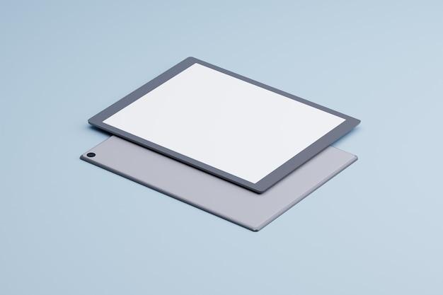D tablet makieta produktu nowoczesna koncepcja