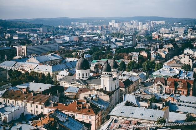 Dach miasta, krajobraz