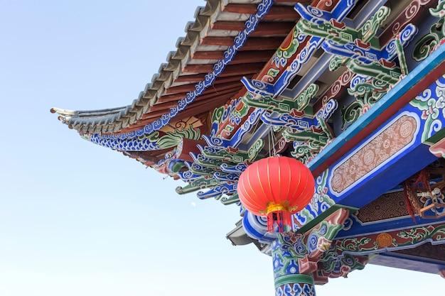 Dach starożytnej architektury chińskiej