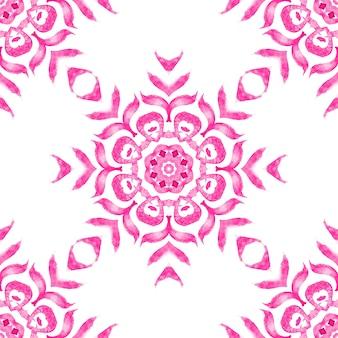 Dachówka kwiatowy wzór akwarela
