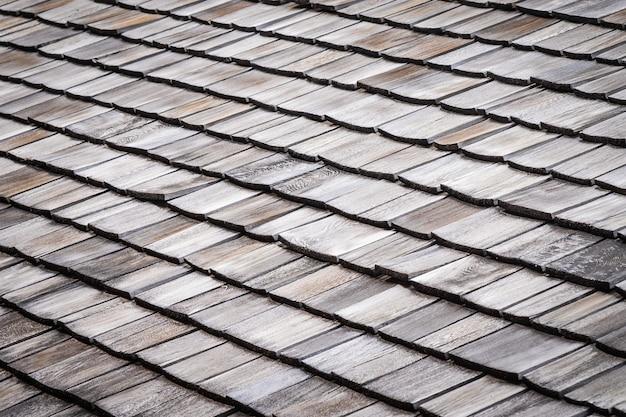 Dachówka na dachu domu lub tekstury domu
