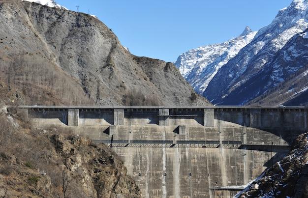 Dam of chambon