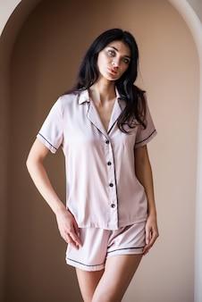 Damska piżama poranna
