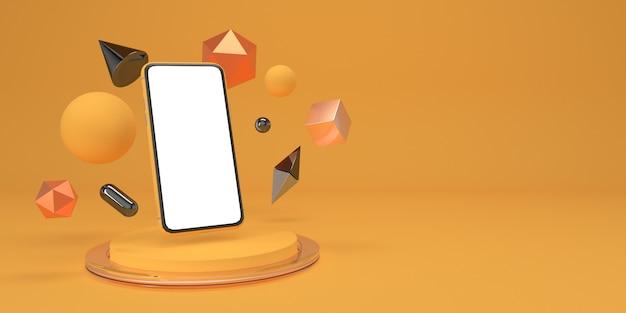 Dane smartfona i geometrii na podium