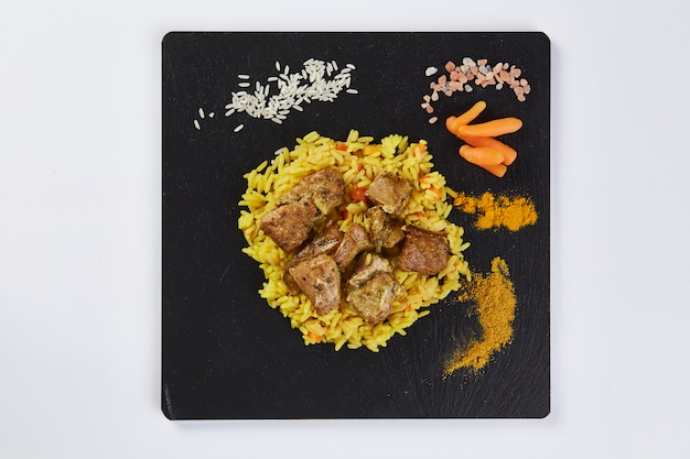 Danie paella, hiszpańska gastronomia