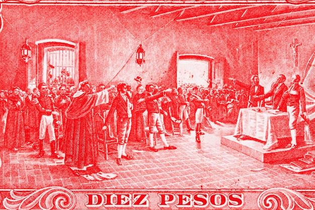 Deklaracja niepodległości od starych argentyńskich pieniędzy