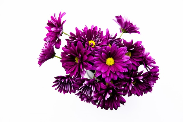 Dekoracja bukietem sztucznych kwiatów, tło kopii przestrzeni