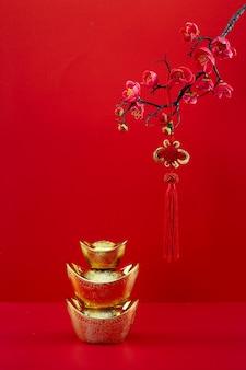 Dekoracja chińskiego nowego roku na festiwal