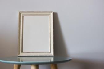 Dekoracja drewniana rama dla ciebie plakat lub fotografia