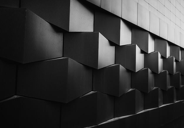 Dekoracja geometrii stali