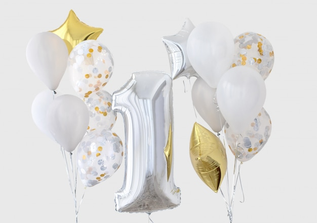 Dekoracja na 1 rocznicę urodzin, rocznica