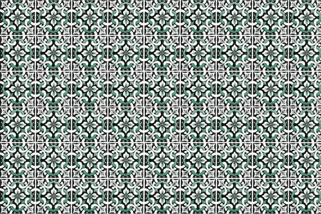 Dekoracja ścienna vintage płytki ceramiczne. tureckie płytki ceramiczne ścienne tło