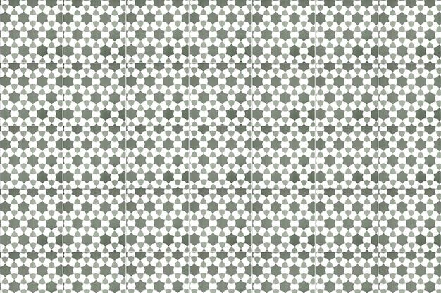 Dekoracja ścienna z płytek ceramicznych w stylu vintage. tło ścienne z tureckich płytek ceramicznych