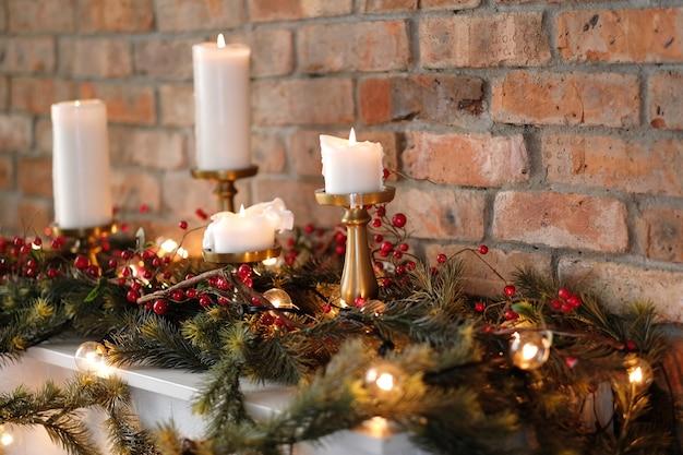 Dekoracja świąteczna w domu