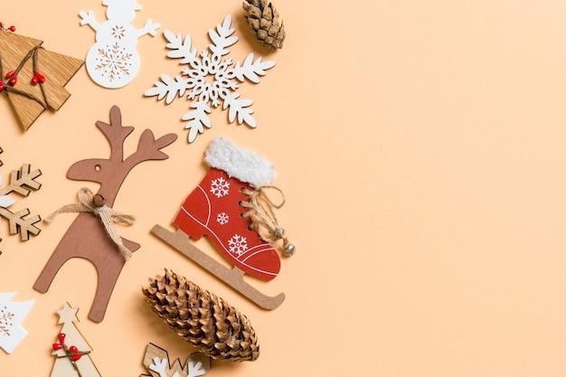Dekoracja świąteczna Premium Zdjęcia