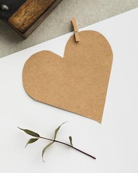 Dekoracja w kształcie serca kreskówka
