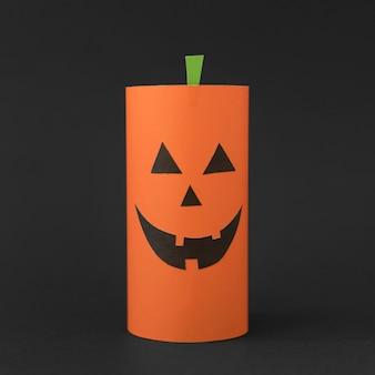 Dekoracja z dyni na halloween